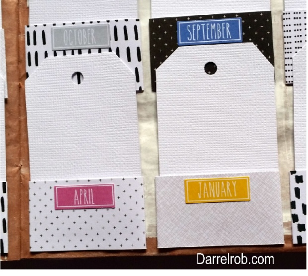 Circle journal Tag holders